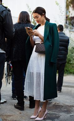 On the Scene….At Dries Van Noten, Paris (from The Sartorialist) See more at http://www.thesartorialist.com/?p=63612