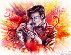 """Doctor Who Art """"Before You Fade From Me"""" by Saimain."""