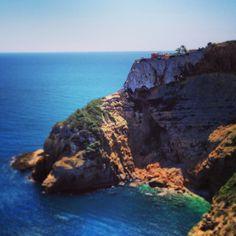 Cap Negre. Cliff top #property in #javea