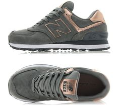 New Balance PRECIOUS METALS 574 (WL574PBG) Fashion Sneakers Women Running Shoes #NewBalance #RunningCrossTraining
