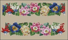ru / Photo # 8 - My hobby 1 - Suliko Mini Cross Stitch, Cross Stitch Rose, Cross Stitch Borders, Cross Stitch Flowers, Cross Stitch Charts, Cross Stitch Patterns, Embroidery Patterns Free, Vintage Embroidery, Beaded Embroidery
