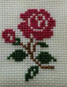1 million+ Stunning Free Images to Use Anywhere Small Cross Stitch, Cross Stitch Cards, Cross Stitch Rose, Cross Stitch Flowers, Cross Stitch Kits, Cross Stitch Designs, Cross Stitching, Cross Stitch Patterns, Ribbon Embroidery