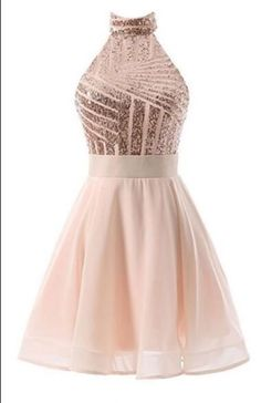 Sale Vogue Backless Prom Dresses Halter Sequins Short Prom Dresses,Backless Mini Homecoming Dresses,Cocktail Dresses Shorter prom dresses -- prom dressing, plus size short prom dresses CLICK Visit link for more details Backless Homecoming Dresses, Cute Prom Dresses, Junior Dresses, Cheap Dresses, Pretty Dresses, Bridesmaid Dresses, Sexy Dresses, Teen Party Dresses, Dress Prom