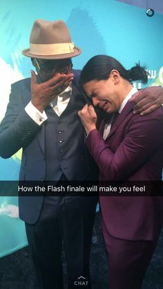 How the flash finale will make you feel!