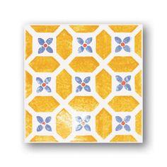 Tubadzyn Majolika Avignon 12 20x20 dekor csempe