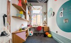 Speelse kleurrijke kinderkamer