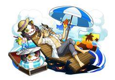 여름색의 여행자 체스터