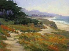 Dunes Beach Vista by Kim Lordier Pastel ~ 12 x 16