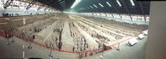 What an incredible sight!!! The terra cotta warriors in Xi'an