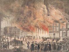 Great fire of NY-1835