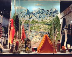 camping window display ideas - Google Search
