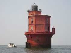 Wolf Trap Lighthouse, in Mathews, Va.  (1024×768)
