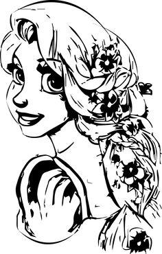 Rapunzel Coloringpagess   01