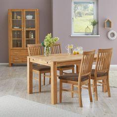 Esszimmertisch Royal Oak 90x140 Eiche Erweiterbar