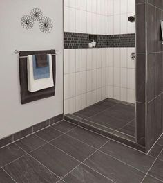 Bathroom Wall Tile Edging - Bathroom Wall Tile Edging Bathroom architecture is added than aloof acrimonious tiles, but that is apparently the best Blue Small Bathrooms, Small Bathroom Sinks, Best Bathroom Vanities, Bathroom Colors, Master Bathroom, Bathroom Ideas, Master Shower, Modern Bathrooms, Beautiful Bathrooms