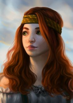 290 Best Red Head Characters Images Fantasy Art Character