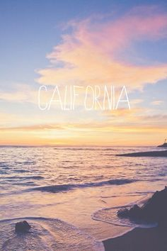 Image via We Heart It https://weheartit.com/entry/125735858/via/16917490 #beach #california #filter #ocean #pretty #sunset #tumblr #wallpaper