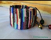 Beaded bracelets/Macrame by IrinitasCreations on Etsy Macrame Art, Macrame Bracelets, Etsy, Jewelry, Jewellery Making, Jewerly, Jewelery, Jewels, Loom Bracelets