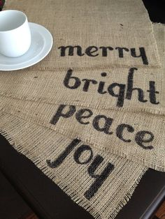 Christmas Place Mat Set by HoHumWhimsy on Etsy, $28.00