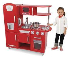 Vintage Kitchen - Red by KidKraft - $159.95