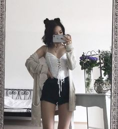 Flawless Summer Outfits Ideas For Slim Women That Looks Cool - Oscilling Edgy Outfits, Grunge Outfits, Cute Casual Outfits, Summer Outfits, Fashion Outfits, Fashion Ideas, Funny Outfits, Dress Summer, Night Outfits