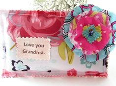 Mother's Day Pillow Lavender Sachet Appliqued by Itsewbella