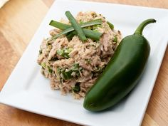 Firecracker Tuna Salad Recipe Lunch and Snacks, Salads with jalapeno chilies, scallions, mustard powder, aleppo pepper, cayenne pepper, red wine vinegar, tuna, black pepper, salt, mayonnaise