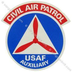 Civil Air Patrol Decal: Seal - 10 inches