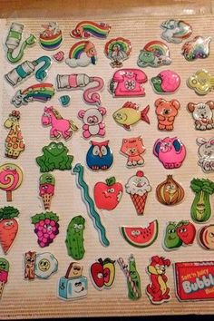 Having a sticker book(s) to store your much-prized puffy and scratch & sniff stickers: