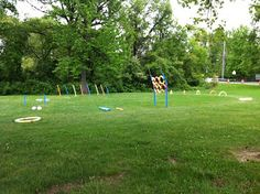 Cub Scout Obstacle Course