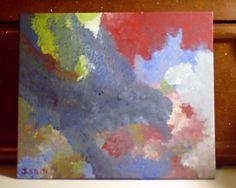 """""""On The Air""""  -  2014  -  8""""x10""""  -  Acrylic on canvas panel"""