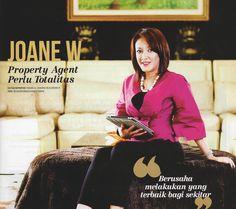 """Dunia properti bukan dunia yang asing untuk Joane W. sejak kecil Senior General Manager Regina Realty ini terbiasa melihat sang ayah yang membeli rumah tua kemudian merenovasinya. """"Kemudian saya ikut membantu sembari mencari pengalaman,"""" tuturnya. Karakter yang berbeda - beda acap kali ia temui setiap bersua dengan klien. Hal itu membuat dirinya semakin total menekuni profesi yang digeluti saat ini. """"Tahun 2003 saya membangun Regina Realty,"""" ujarnya.  www.reginarealty.co.id"""