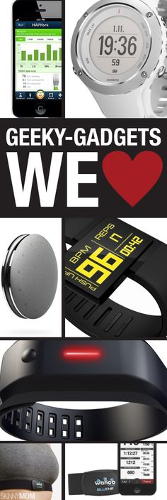 We are geeking over these workout gadgets!