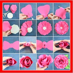 41 Best Paper Wall Flowers Diy Images