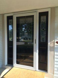 Front Doors With Storm Door the midview white storm door adds traditional detailing to the
