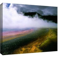 Dean Uhlinger Approaching Storm Gallery-Wrapped Canvas, Size: 36 x 48, Gray