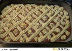 Tvarohová mřížková buchta recept - TopRecepty.cz Dessert Recipes, Desserts, Macaroni And Cheese, Pie, Ethnic Recipes, Food, Tailgate Desserts, Pinkie Pie, Deserts