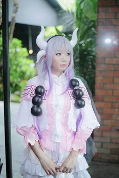 Kanna cosplay by Hazelboamiki #myanmarcosplayer