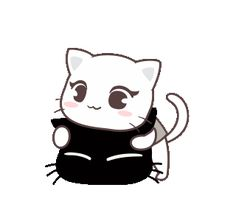 Cute Love Pictures, Cute Images, Kawaii Stickers, Love Stickers, Cute Anime Cat, Cartoon Chicken, Cute Love Cartoons, Cute Characters, Cute Gif