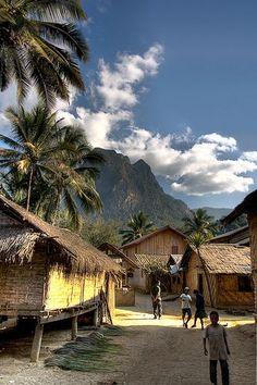 Laos - Luang Prabang Village | Flickr - Photo Sharing!