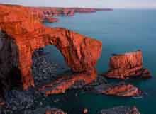Britain's only coastal National Park, Pembrokeshire Coast National Park in Wales, covers 612 square kilometres. Pembrokeshire Coast Path, Pembrokeshire Wales, Welsh Coast, Visit Wales, Uk Holidays, Hidden Beach, Beach Images, Tourist Trap, Days Out
