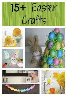 15 Awesome Easter Crafts To Make with your kids!