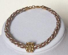 Braided Bracelet Rope Bracelet Kumihimo by CreationsByLacieK