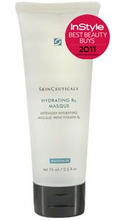 skin ceuticals hydrating B5 masque.  Contains high concentrations of hyaluronic acid and vitamin B5  Optimizes moisture infusion in targeted areas  Improves skin's tissue repair function  Leaves skin supple and smooth