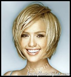 Medium Hairstyles For Thick Hair With Bangs