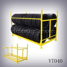 Rolling Tire Storage Rack Beauteous Rolling Tire Storage Rack  Pinterest  Tire Rack Storage Rack And