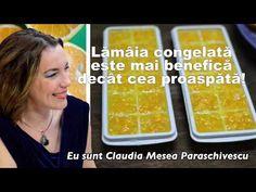 Lamaia Congelata Este mai Benefica Decat cea Proaspata - YouTube Smoothie, Youtube, Food, Diet, Plant, Canning, Essen, Smoothies, Meals
