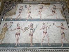 Villa Romana mosaics - Piazza Armerina - Sicily