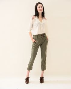 Enjoy the unrestricted comfort of a t-shirt and the put together elegance of a blouse. This blouse is designed to be COMFORTABLE and can be sewn in knits or st