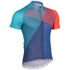Wiggle | dhb Blok Short Sleeve Jersey - Prism | Short Sleeve Cycling Jerseys